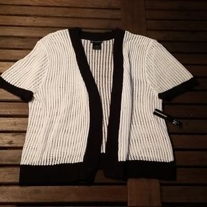 NWT New Directions cardigan sweater, Large